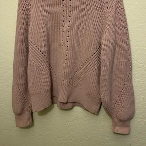 Pink sweater. Size Small